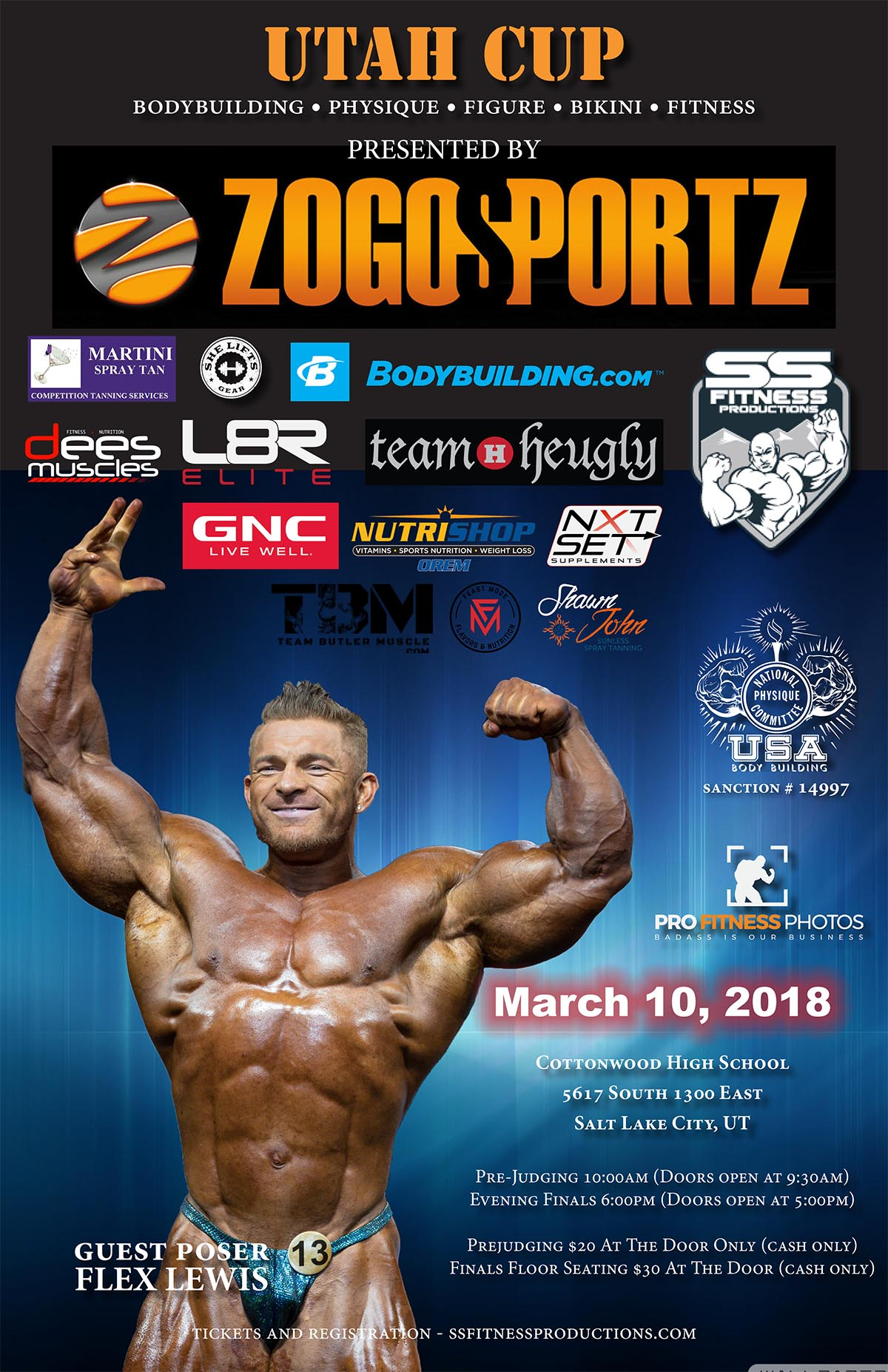 Past Events - SS Fitness Productions - Bodybuilding, Fitness, Figure
