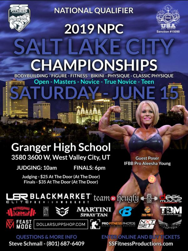 NPC Bodybuilding, Physique, Bikini, Figure and Fitness Championships